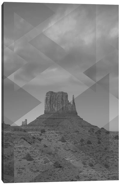 Landscapes Scattered 4 Monument Valley Canvas Art Print