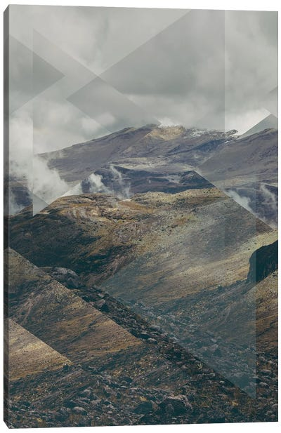 Landscapes Scattered 4 Nevado del Ruiz Canvas Art Print