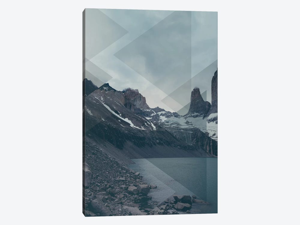 Landscapes Scattered 4 Torres del Paine by Joe Mania 1-piece Canvas Art