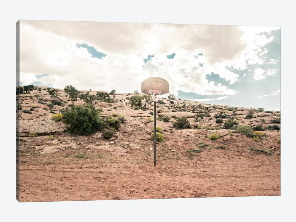 Streetball Courts 1 Arizona, USA by Joe Mania 1-piece Canvas Print