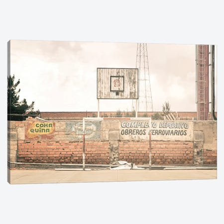 Streetball Courts 1 La Paz, Bolivia Canvas Print #NIA96} by Joe Mania Canvas Print