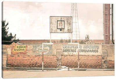 Streetball Courts 1 La Paz, Bolivia Canvas Art Print