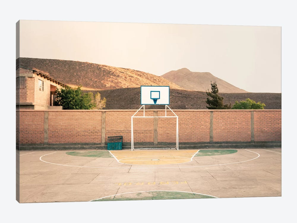 Streetball Courts 1 Potosi, Bolivia by Joe Mania 1-piece Canvas Print
