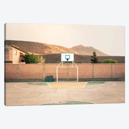 Streetball Courts 1 Potosi, Bolivia Canvas Print #NIA97} by Joe Mania Canvas Print