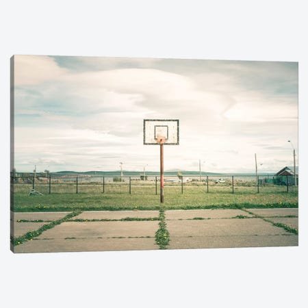 Streetball Courts 1 Puerto Natales, Chile Canvas Print #NIA98} by Joe Mania Canvas Artwork