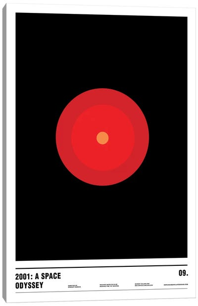 2001: A Space Odyssey Canvas Art Print