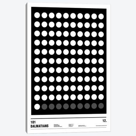 101 Dalmatians Canvas Print #NIB24} by Nick Barclay Art Print