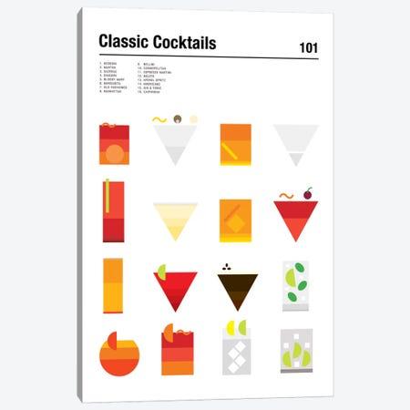 Classic Cocktails 101 Canvas Print #NIB27} by Nick Barclay Canvas Art Print