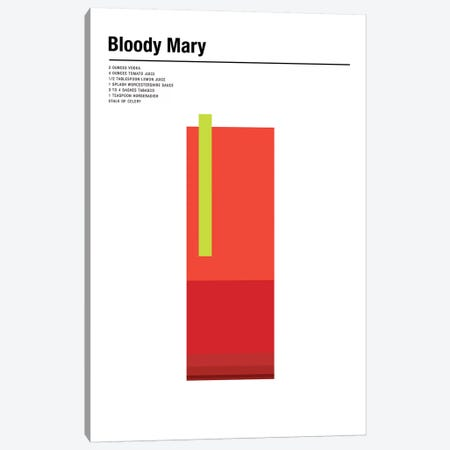 Bloody Mary Canvas Print #NIB30} by Nick Barclay Canvas Print