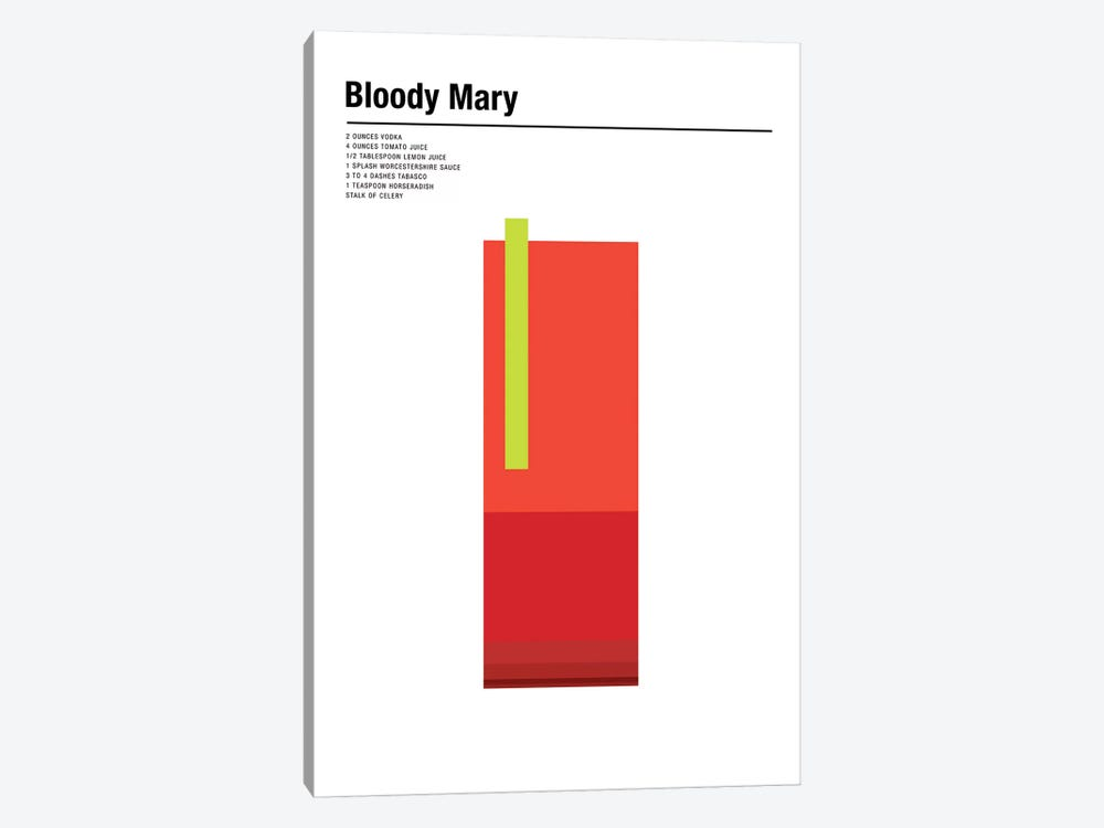 Bloody Mary by Nick Barclay 1-piece Canvas Art