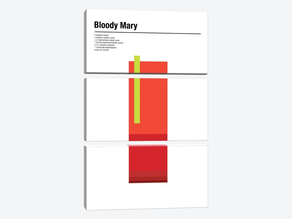 Bloody Mary by Nick Barclay 3-piece Canvas Wall Art