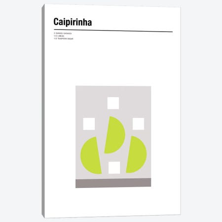 Caipirinha Canvas Print #NIB31} by Nick Barclay Art Print