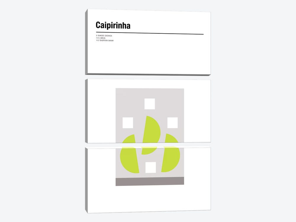 Caipirinha by Nick Barclay 3-piece Canvas Print