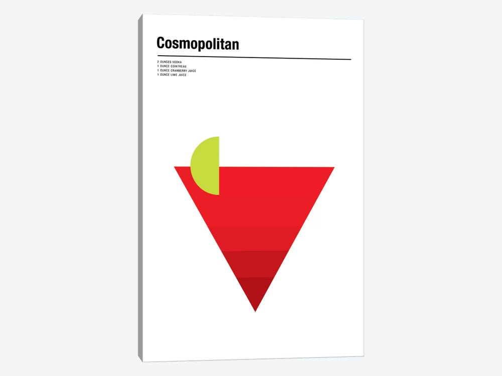 Cosmopolitan by Nick Barclay 1-piece Canvas Artwork