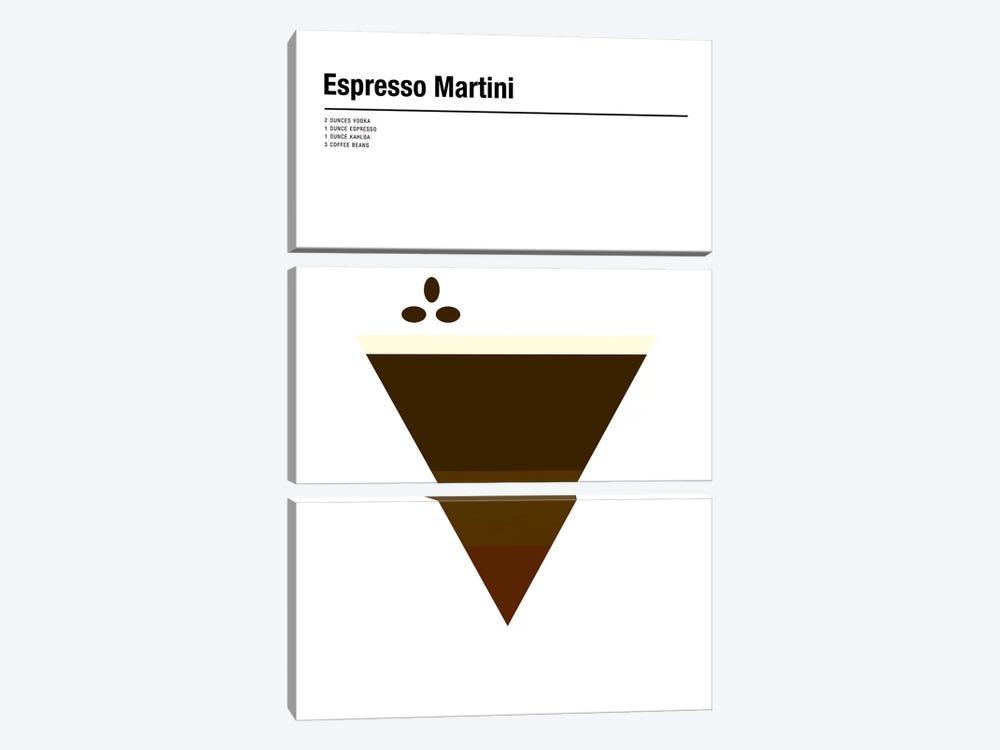 Espresso Martini by Nick Barclay 3-piece Canvas Wall Art
