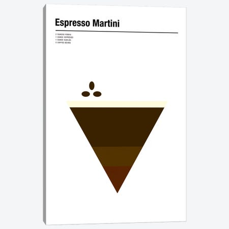 Espresso Martini Canvas Print #NIB34} by Nick Barclay Canvas Artwork