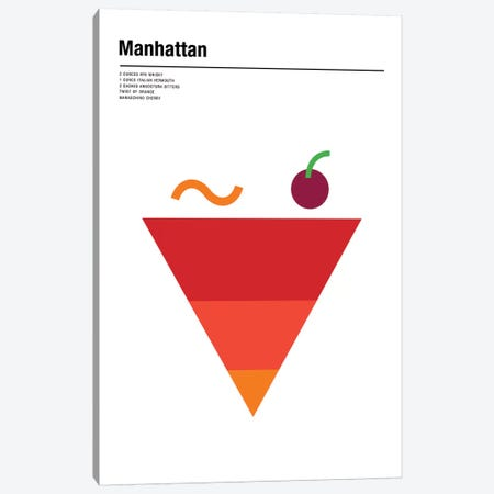 Manhattan Canvas Print #NIB36} by Nick Barclay Canvas Wall Art
