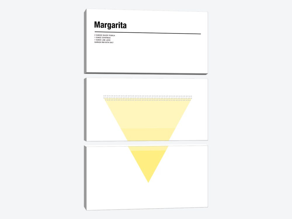 Margarita by Nick Barclay 3-piece Canvas Print