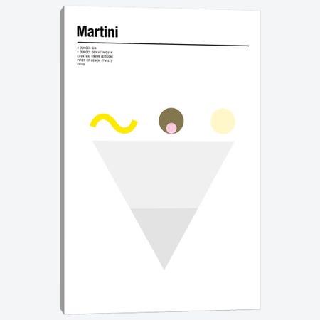 Martini Canvas Print #NIB38} by Nick Barclay Art Print