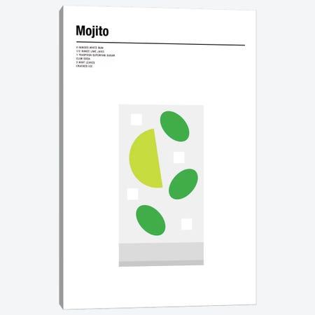 Mojito Canvas Print #NIB39} by Nick Barclay Art Print