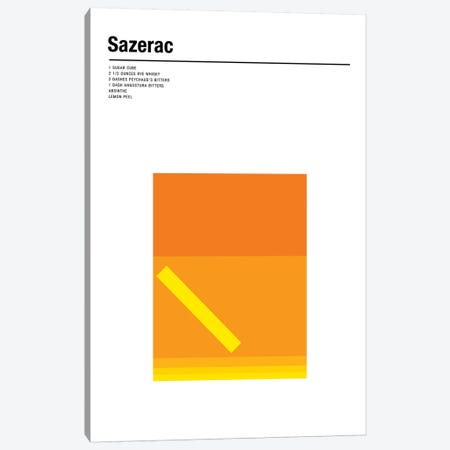 Sazerac Canvas Print #NIB42} by Nick Barclay Canvas Wall Art
