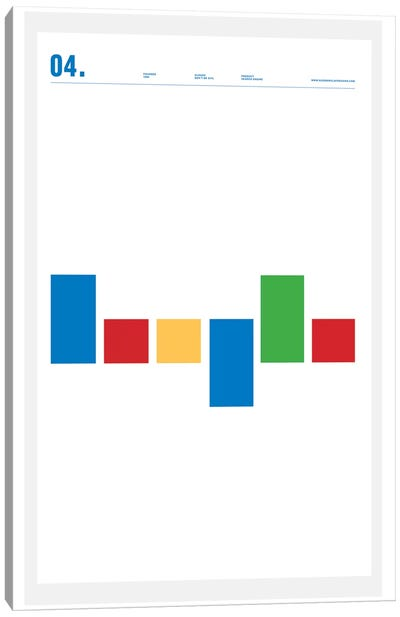 Google Canvas Art Print