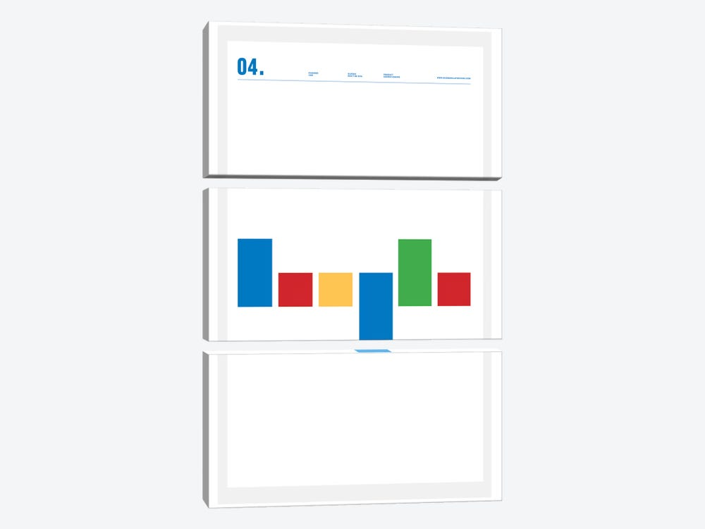 Google by Nick Barclay 3-piece Art Print