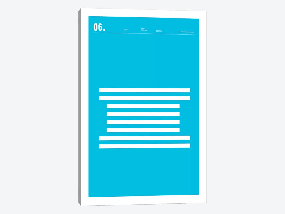 IBM by Nick Barclay 1-piece Canvas Print