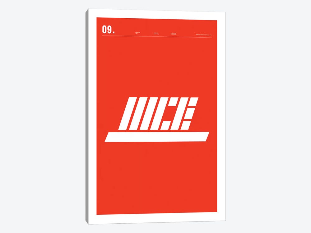 Nike by Nick Barclay 1-piece Canvas Print