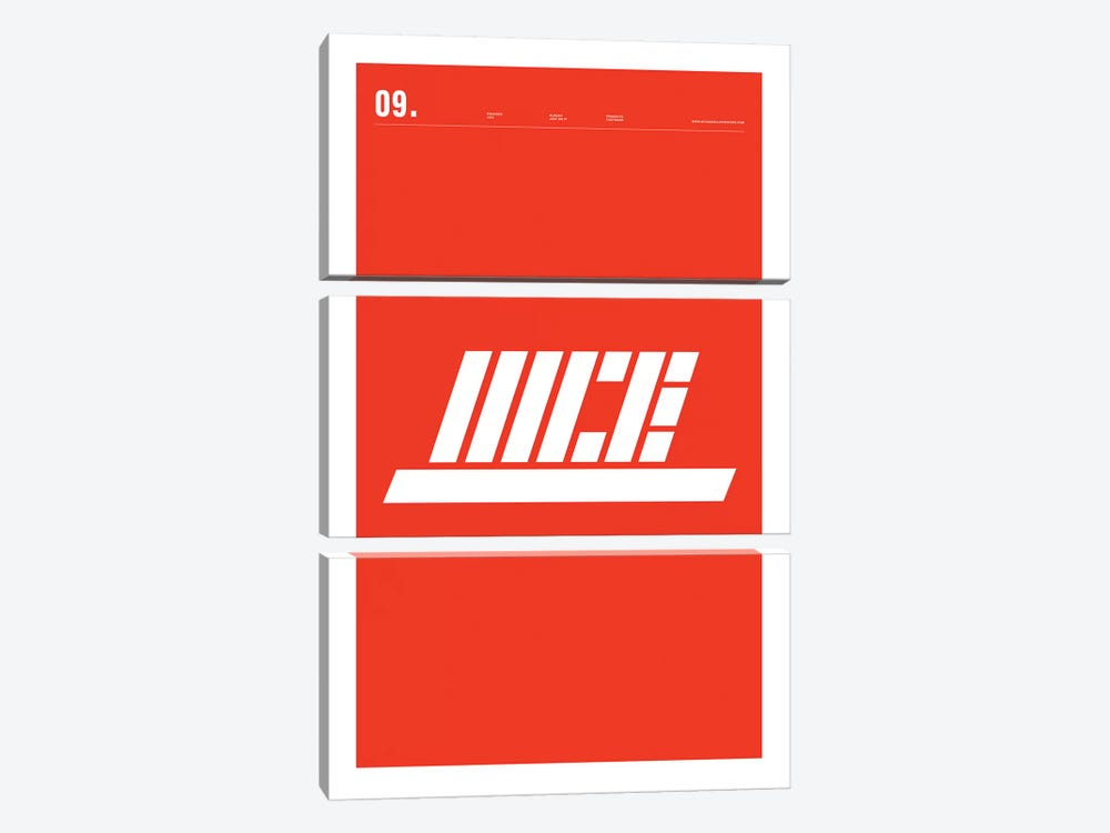 Nike by Nick Barclay 3-piece Canvas Print