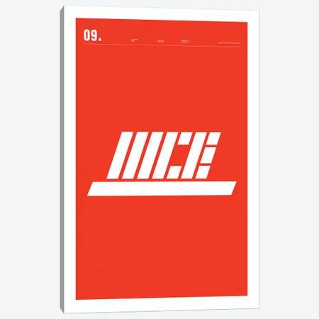 Nike Canvas Print #NIB51} by Nick Barclay Art Print