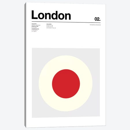 London Canvas Print #NIB64} by Nick Barclay Art Print