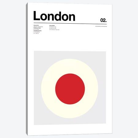 London Canvas Print #NIB64} by Nick Barclay Art Print