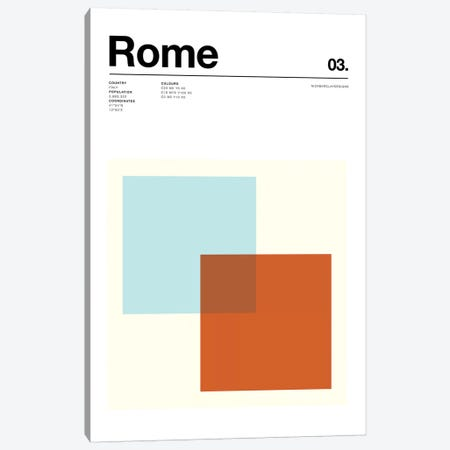 Rome Canvas Print #NIB65} by Nick Barclay Canvas Print