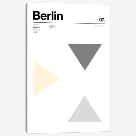 Berlin Canvas Print #NIB68} by Nick Barclay Canvas Wall Art