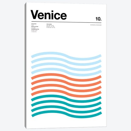 Venice Canvas Print #NIB71} by Nick Barclay Canvas Art Print
