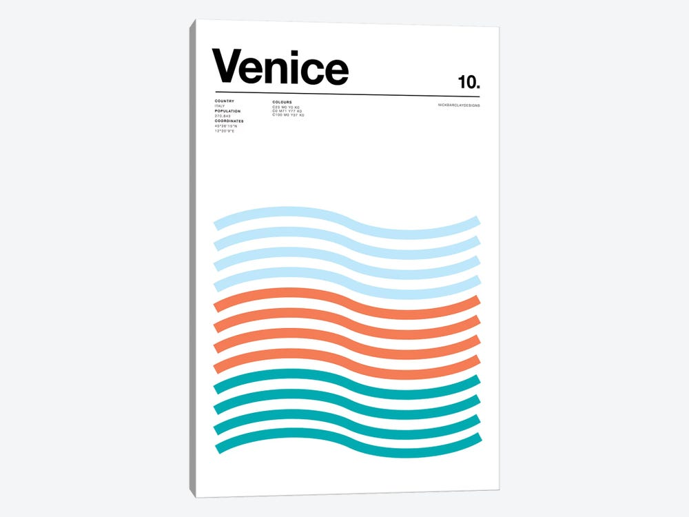 Venice by Nick Barclay 1-piece Art Print
