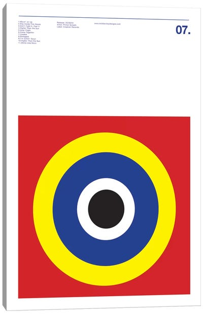 Primal Scream - Screamadelica Canvas Art Print