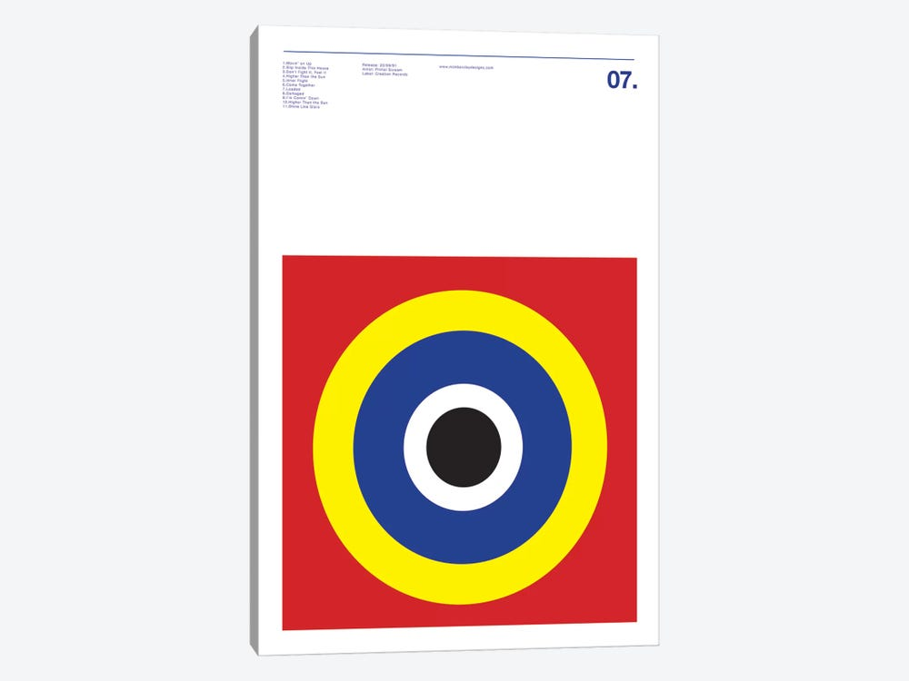 Primal Scream - Screamadelica by Nick Barclay 1-piece Canvas Art Print
