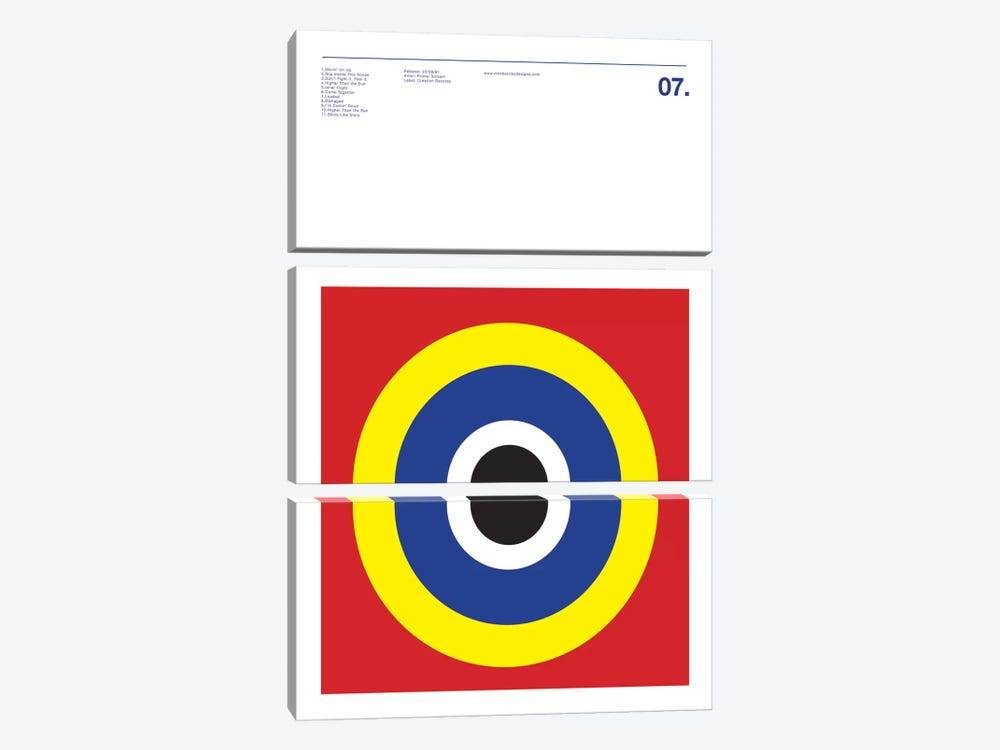 Primal Scream - Screamadelica by Nick Barclay 3-piece Art Print