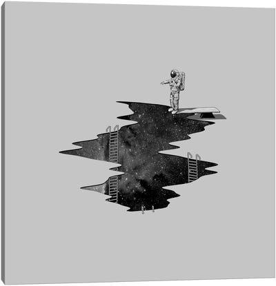 Space Diving II Canvas Art Print