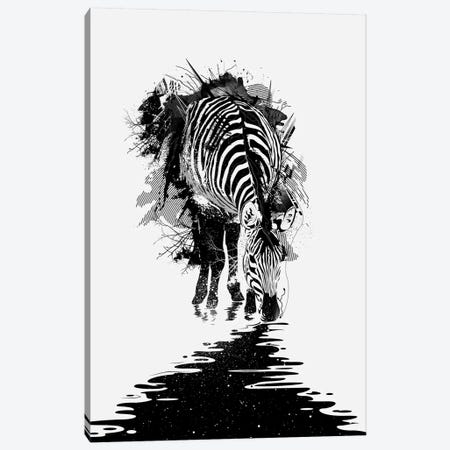 Stripe Charging Canvas Print #NID102} by Nicebleed Canvas Artwork