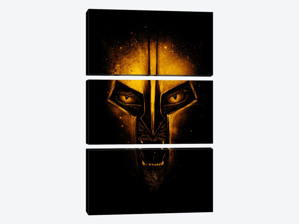 The Protector by Nicebleed 3-piece Canvas Wall Art