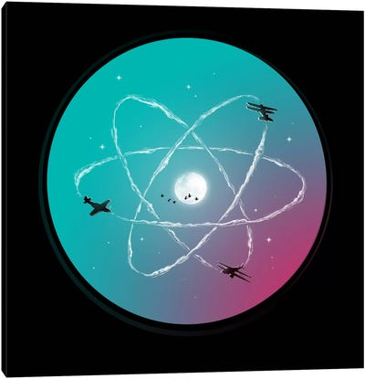 Atomic Formation Canvas Print #NID104