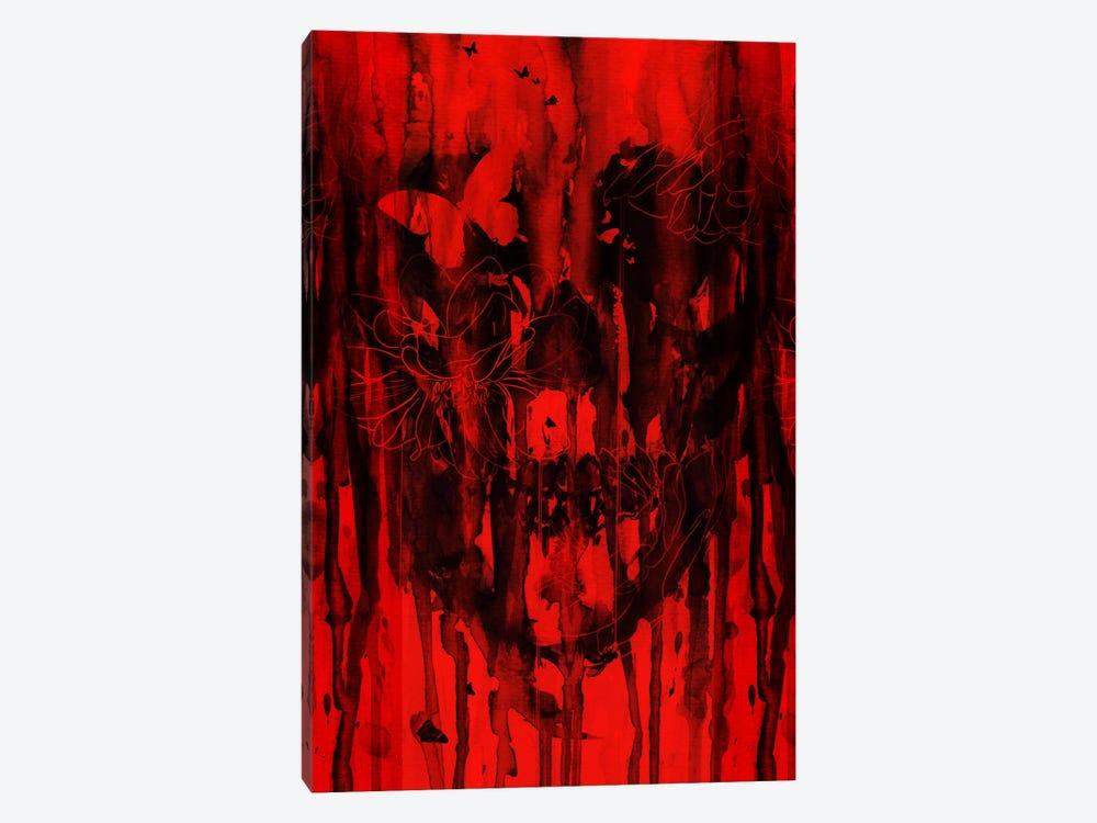 Birth Of Oblivion Red II by Nicebleed 1-piece Canvas Artwork