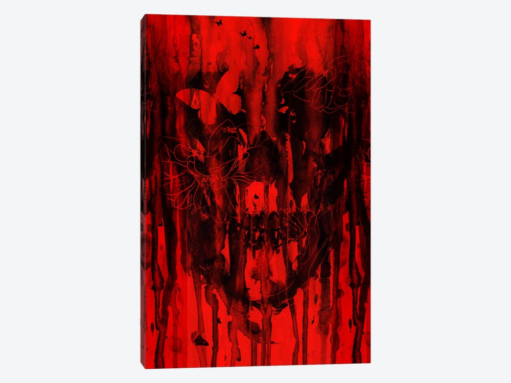 Birth Of Oblivion Red II by Nicebleed 1-piece Canvas Artwork