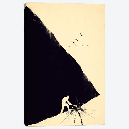 Freedom Seeker Canvas Print #NID108} by Nicebleed Canvas Art