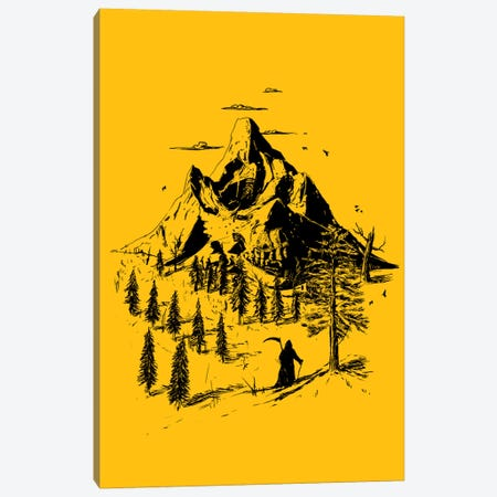 Home Sweet Home Canvas Print #NID109} by Nicebleed Canvas Artwork