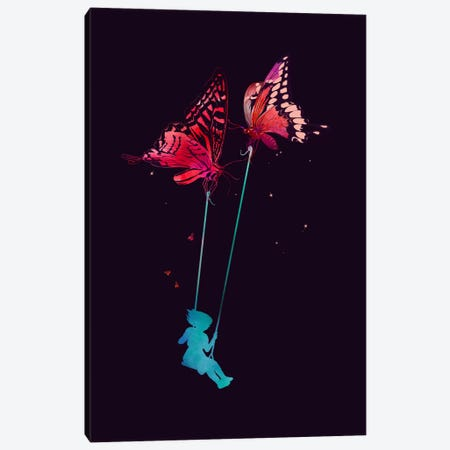Joy Ride Canvas Print #NID110} by Nicebleed Art Print