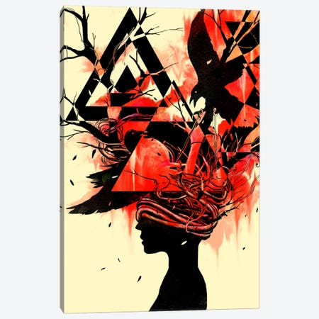 Mindless Canvas Print #NID111} by Nicebleed Canvas Print